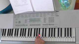 "LetterNotePlayer © ~  For free download of .pdf with the Piano Letter Notes & bass progression, go to: http://www.LetterNotePlayer.com/    Tutorial shows how to play the beat melodies,  for  ""You Guessed It""  by OG Maco- on piano / keyboard, in the original key.     This tutorial  demonstrates the RH notes, sequences and melodies.  Demo uses a Piano Pad - sound setting on the keyboard.  If you want to play  ""You Guessed It"" this video makes it accessible; perhaps having you play most of it in just a few minutes.  Easily adapted to a ""rap along""    Also - follow me on Twitter - LtrNotePlayer - receive tweets whenever I upload a new video. If you subscribe to my channel you will automatically receive notices every time I upload a tutorial - I upload quite often - always a requested song."
