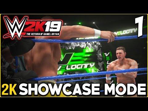WWE 2K19 : 2K SHOWCASE - The Return of Daniel Bryan Part 1 - vs John Cena (Velocity) (XBOX ONE/PS4)