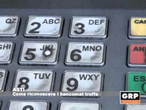 ecco come ci fregano i nostri soldi al bancomat!