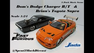 Nonton Toyota Supra & Dodge Charger 2 Pack Movie Scene Diecast (Fast And Furious) Jada Film Subtitle Indonesia Streaming Movie Download