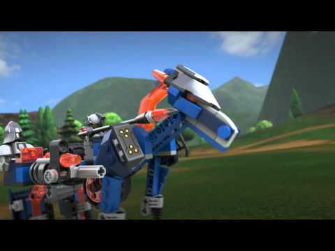 Конструктор Лавинный разрушитель Молтора - LEGO NEXO KNIGHTS - фото № 9