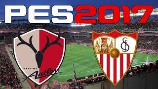 Kashima Antlers vs Sevilla FC simulated in #PES2017Enjoy! You can find me onFacebook - https://www.facebook.com/corocusTwitter - https://www.twitter.com/corocus