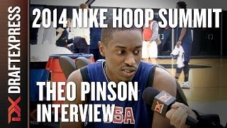 Theo Pinson - 2014 Nike Hoop Summit - Interview