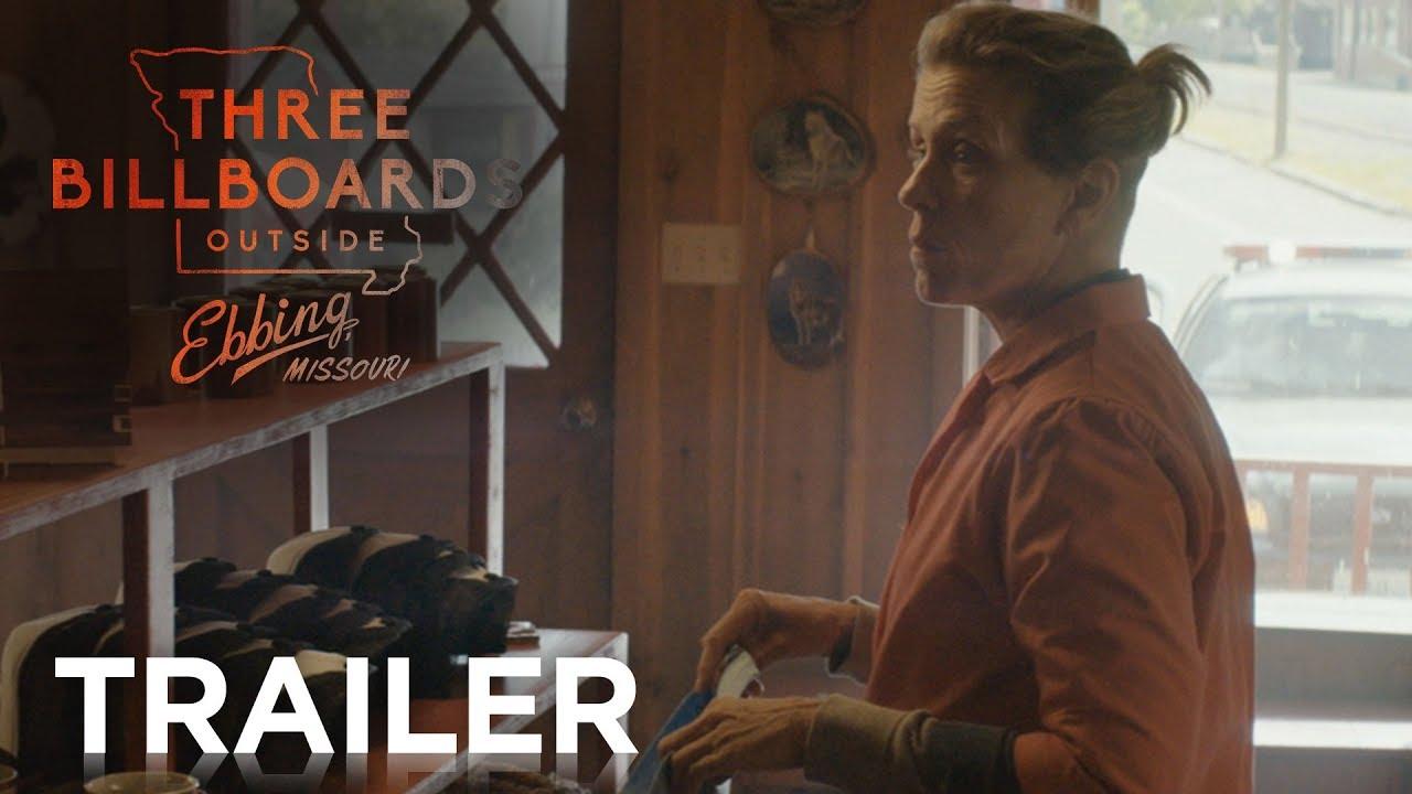 Watch Frances McDormand & Woody Harrelson in Martin McDonagh's 'Three Billboards Outside Ebbing, Missouri' Dark Twisted Dramedy Trailer