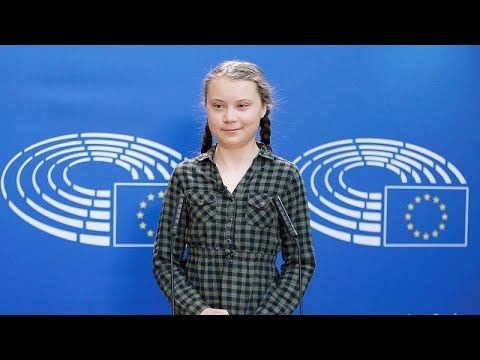 Η Γκρέτα Τούνμπεργκ στο Ευρωπαϊκό Κοινοβούλιο