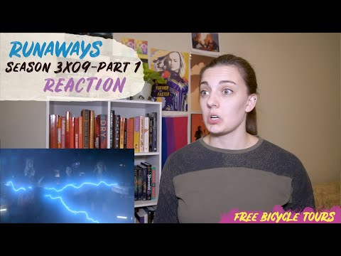 "Runaways Season 3 Episode 9 ""The Broken Circle"" REACTION Part 1"