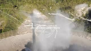 Nagranie z zawalenia się ogromnego radioteleskopu w Arecibo