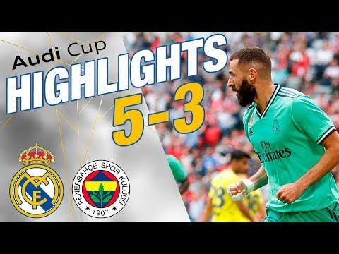 GOALS & HIGHLIGHTS   Real Madrid 5-3 Fenerbahçe