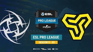 NIP vs Space Soldiers - ESL Pro League S8 EU - bo1 - de_mirage [CrystalMay, MintGod]