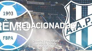 Confira os jogadores do Tricolor relacionados para a partida contra a Ponte Preta na Arena do Grêmio, válida pela 6ª rodada do Campeonato Brasileiro 2016.