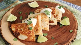 Shrimp & Corn Quesadillas | Episode 1184 by Laura in the Kitchen