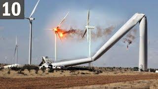 Video TOO MUCH WIND! 10 Wind Turbine Fails MP3, 3GP, MP4, WEBM, AVI, FLV September 2019