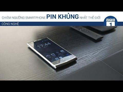 Chiêm ngưỡng smartphone pin khủng nhất thế giới | VTC1 - Thời lượng: 87 giây.
