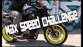 10. Max Speed Challenge / 2016 Yamaha FZ-07