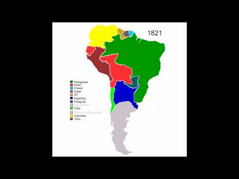 Colonial History of South America