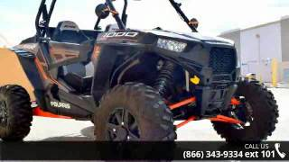1. 2014 Polaris RZR XP 1000 EPS Titanium Matte Metallic LE  ...