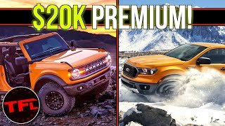 Should I Buy a New Ford Bronco or a Ranger Pickup? I Compare Them Side by Side to Find Out by The Fast Lane Truck