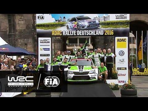 WRC 2 - ADAC Rallye Deutschland 2016: WRC 2 HIGHLIGHTS/ Review Clip