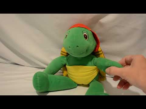 Franklin Turtle Kidpower Talking Vtg 80s