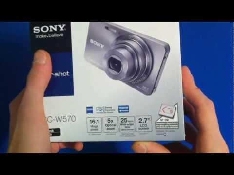Video Unboxing Sony Cyber-shot 16.1MP Digital Camera DSC-W570 Black (HD 720p) download in MP3, 3GP, MP4, WEBM, AVI, FLV January 2017