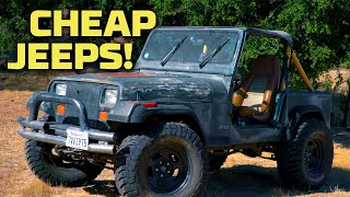 Cheapest Jeep Builds! | Dirt Every Day | MotorTrend by Motor Trend