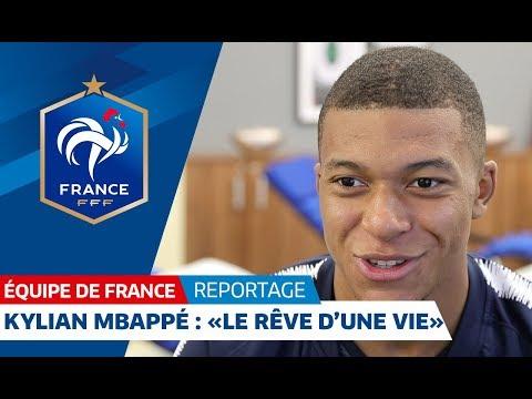 Video Equipe de France : Kylian Mbappé :