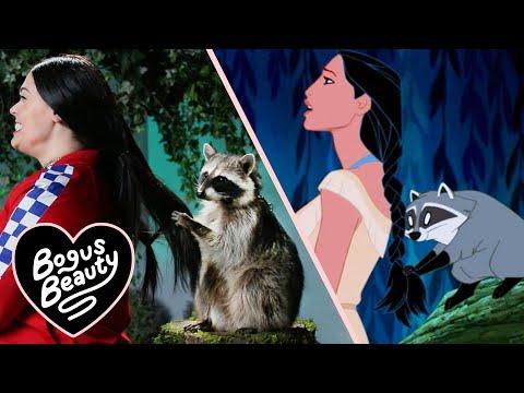 A Raccoon Tried To Braid My Hair Like In Pocahontas (видео)