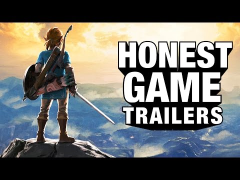 ZELDA: BREATH OF THE WILD (Honest Game Trailers) (видео)