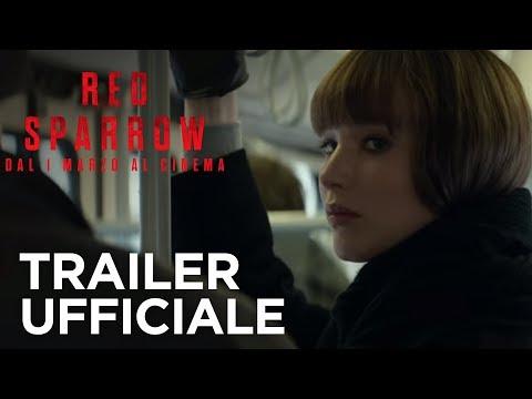 Preview Trailer Red Sparrow, trailer ufficiale italiano