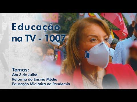 Participação da APEOESP dia 3 de julho | Reforma do ensino médio | Educação midiática na pandemia