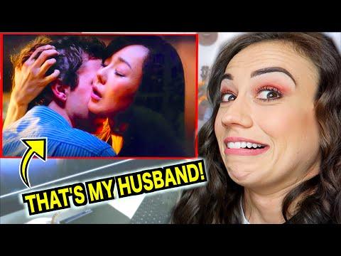 REACTING TO MY HUSBAND'S LOVE SCENES!