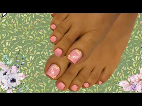 Uñas decoradas - Diseño de uñas para Boda uñas de pies decoradas
