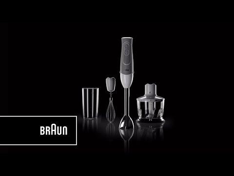Braun Multiquick 5 Hand Blender, MQ 535 Sauce - Lighter. Handier. Easier   Introduction
