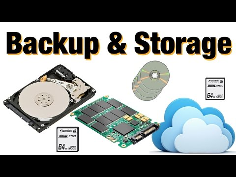 Photo Storage & Backup - Studio and Travel set ups