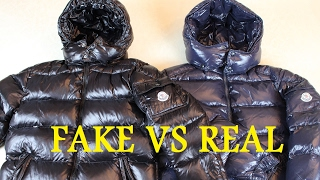 How To Spot a Fake Moncler Jacket REAL VS FAKE | Authentic vs Replica Moncler Maya Jacket