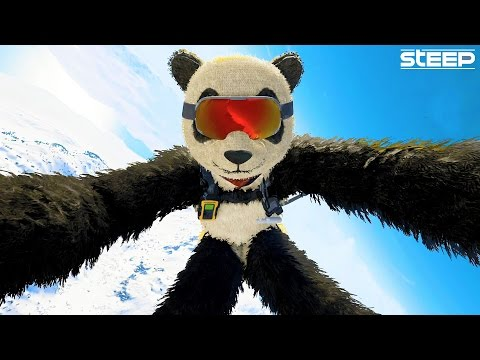 STEEP: BIGGEST STUNT, BEST SECRETS & CHALLENGES - STEEP AIR BALLOON GLITCH (STEEP Funny Moments)
