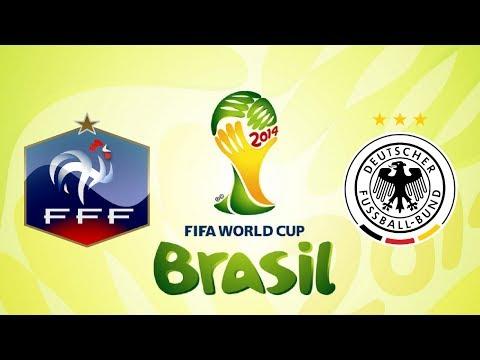 Fifa 14 | France VS Allemagne | Quart de final de la Coupe du monde 2014 | PC
