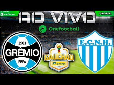 Grêmio 3x0 Novo Hamburgo AO VIVO  Campeonato Gaúcho 2018  Gauchão