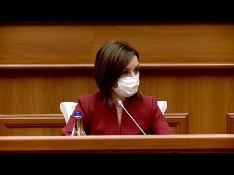 Președintele Maia Sandu o înaintează repetat pe Natalia Gavrilița la funcția de Prim-ministru al Republicii Moldova
