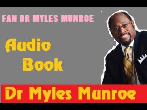 Chase God NOT Money With Dr Myles Munroe   Full