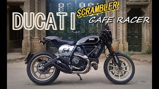 2. Ducati Scrambler Cafe Racer - Fast road test / review