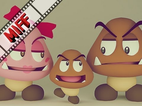 Animation : First Person Goomba