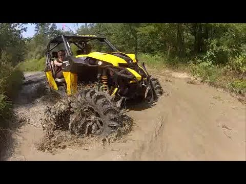 Can Am Maverick on 34″ Terminators