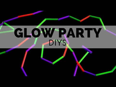 How to Throw a Glow Party