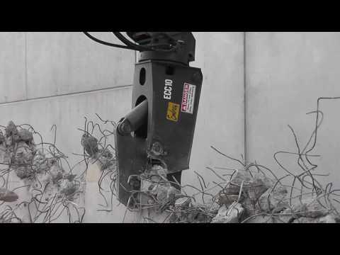 Hydraulic Concrete Pulverizer | ECP Series