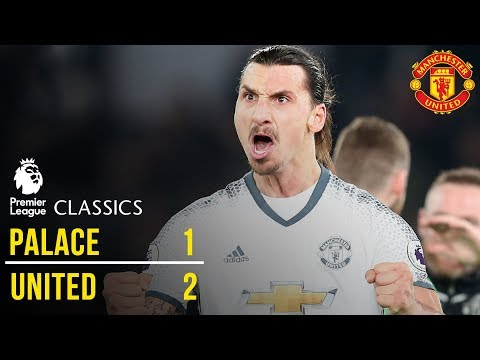Crystal Palace 1-2 Manchester United (16/17) | Premier League Classics | Manchester United