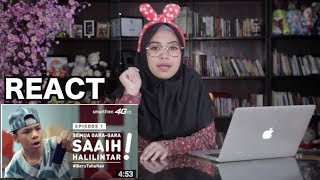 Video Video buat Saaih Halilintar (bukan) Atta || Reaction Video MP3, 3GP, MP4, WEBM, AVI, FLV Juni 2017