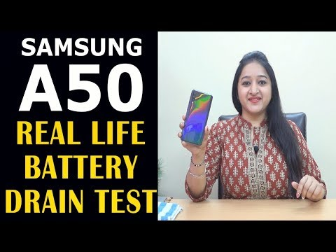 Samsung Galaxy A50 - Real Life Battery Drain Test(1 Day Heavy Use)