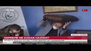 Deprem Simülasyon Tırı Gaziosmanpaşa'da - Ülke Tv