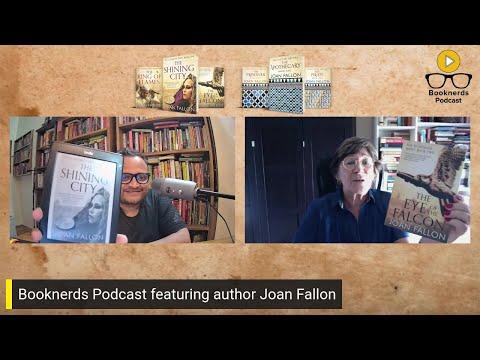 Booknerds Podcast featuring author Joan Fallon